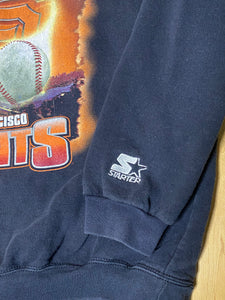 Vintage 1997 San Francisco SF Giants Western Division Champs Crew from STARTER - L