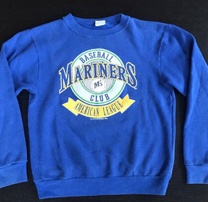 1990 Seattle Mariners - Youth L - Rad Max Vintage