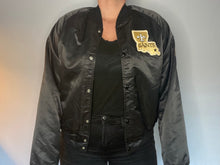 Load image into Gallery viewer, Vintage New Orleans Saints Chalk Line Satin Bomber Jacket - M
