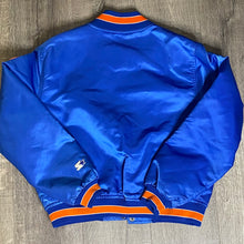 Load image into Gallery viewer, Vintage 1980s New York NY Mets Satin Bomber STARTER JACKET - Youth Large / Adult XS