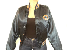 Load image into Gallery viewer, Chicago Bears Chalk Line Satin Bomber - L - Rad Max Vintage