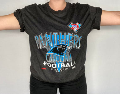 Vintage 1994 Carolina Panthers NFL 75 Year Anniversary NWOT Deadstock TSHIRT - L