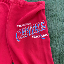 Load image into Gallery viewer, Vintage Late 80s-early 90s Washington Capitals Old Logo Sweatpants (!!!) - S