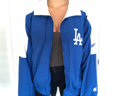 Vintage Los Angeles Dodgers Starter Windbreaker Jacket - L