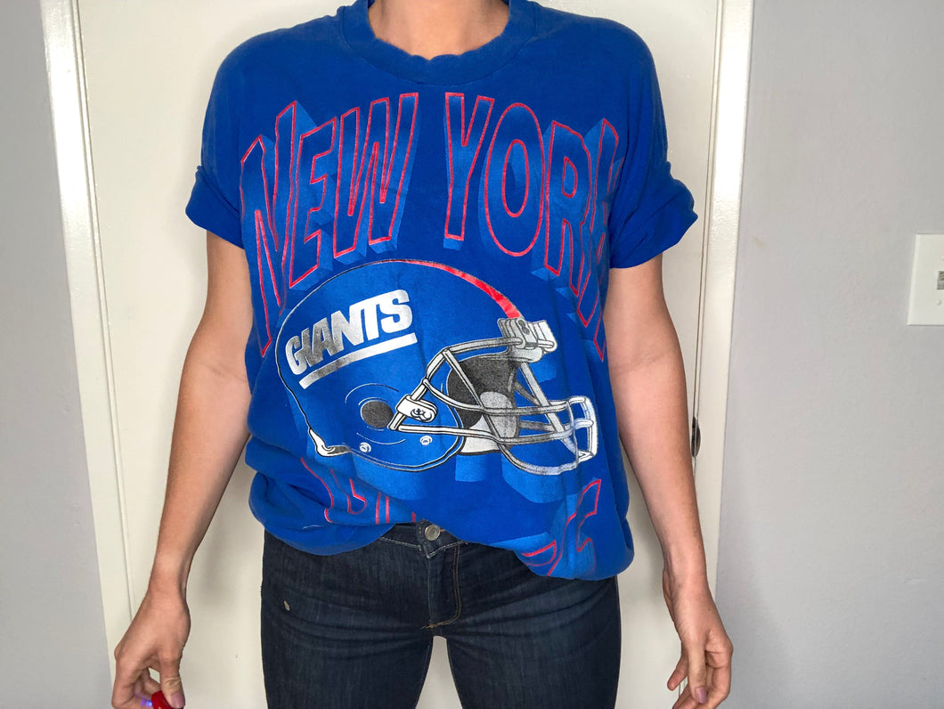 1994 New York Giants TSHIRT - XL - Rad Max Vintage