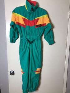 Kaelin Exposure Ski Onesie - XS / Youth L - Rad Max Vintage