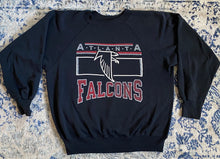 Load image into Gallery viewer, Vintage Early 1990s Atlanta Falcons Old Logo Crew - L