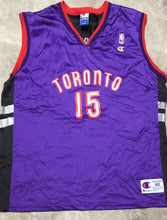 Load image into Gallery viewer, Vintage 1998-2004 Toronto Raptors Vince Carter Champion Jersey - L/48