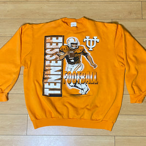 Vintage 1990s University of Tennessee VOLS Football Crew - XL