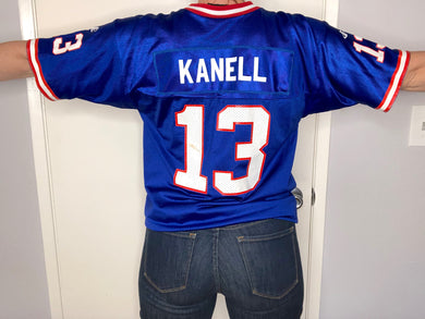 1996-98 New York Giants Danny Kanell Jersey - S - Rad Max Vintage