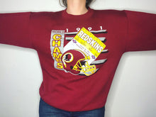 Load image into Gallery viewer, 1991 Washington Redskins Crew - M/L - Rad Max Vintage