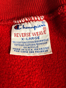 Vintage 1980s Detroit Red Wings Crewneck - XL