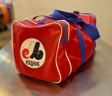 Vintage 1970s/1980s Montreal Expos Workout Gym Bag