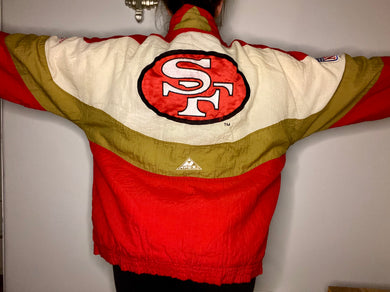 Vintage San Francisco 49ers APEX ONE Puffer Jacket - XL
