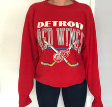 Load image into Gallery viewer, Vintage 1980s Detroit Red Wings Crewneck - XL