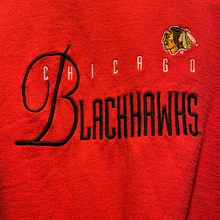 Load image into Gallery viewer, Vintage 1990s Chicago Blackhawks Embroidered Crew - M