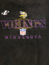 Load image into Gallery viewer, Vintage 90s Minnesota Vikings Logo Athletic Crew - XL