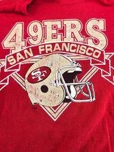 Load image into Gallery viewer, Vintage 80s San Francisco 49ers Logo 7 Crew - S