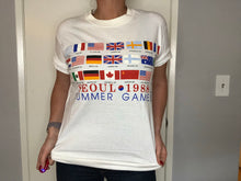 Load image into Gallery viewer, 1988 USA Seoul Olympics TSHIRT - L - Rad Max Vintage