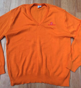 Vintage Tampa Bay Buccaneers Orange Old Logo Sweater - L