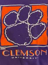 Load image into Gallery viewer, Vintage Clemson University Tigers Purple Crew - S