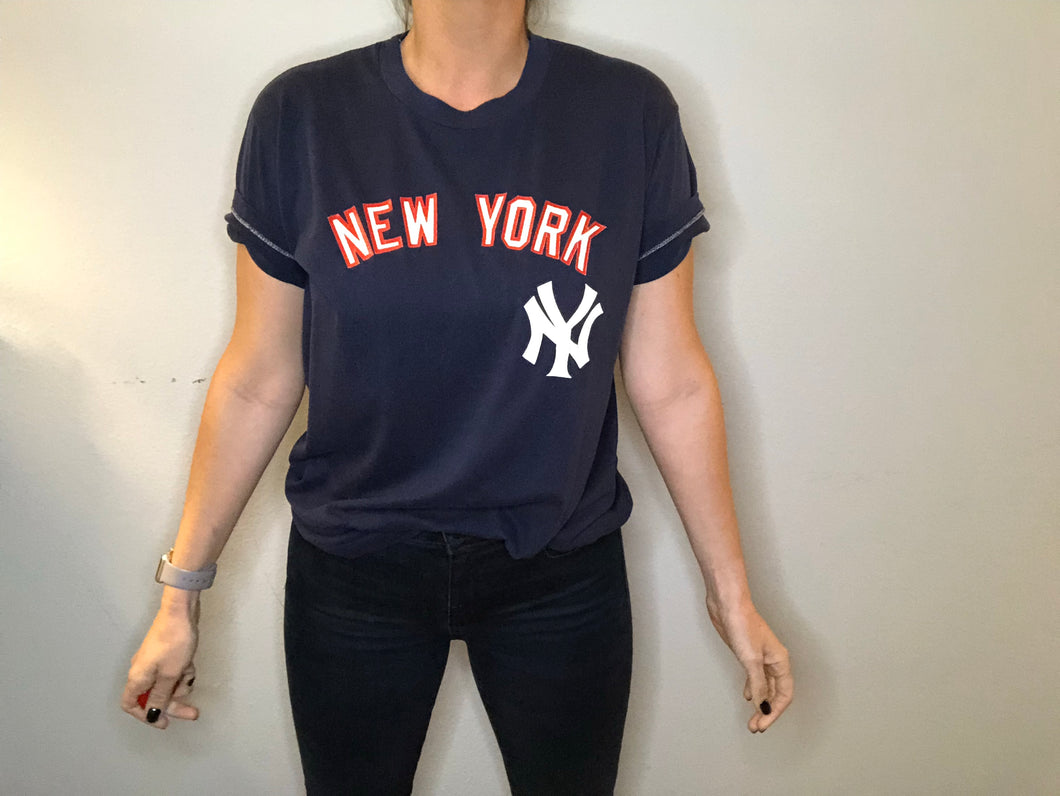 1980s New York Yankees TSHIRT - M