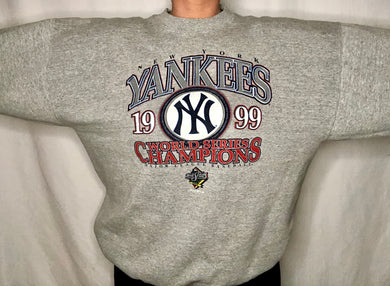 Vintage 1999 New York Yankees World Series Champs - XL