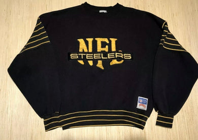 Vintage 90s Pittsburgh Steelers Crew - M/L