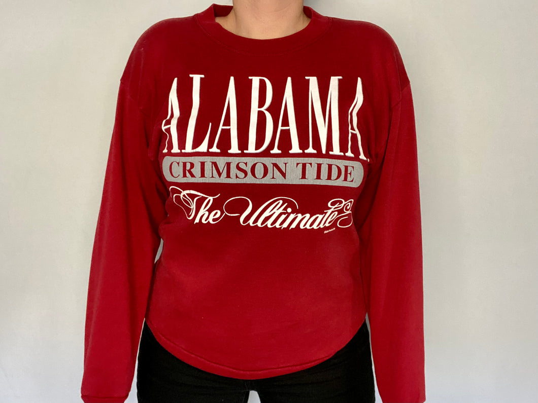 Vintage 1990s University of Alabama Crimson Tide The Ultimate Crew - M