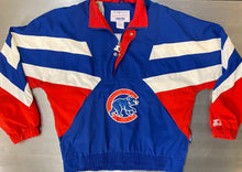 Load image into Gallery viewer, Vintage Chicago Cubs Old Logo Windbreaker by STARTER - XL