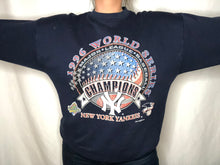 Load image into Gallery viewer, Vintage 1996 New York Yankees World Series Champs Crew - L