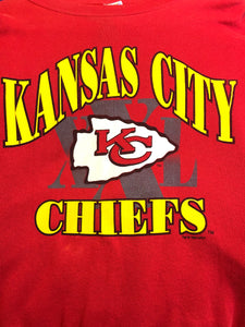 1994 Kansas City Chiefs Crew - XL