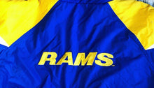 Load image into Gallery viewer, St Louis Rams Starter Jacket - XL - Rad Max Vintage
