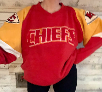 Vintage 1995 Kansas City KC Chiefs Galt Sand Crew - XL / XXL