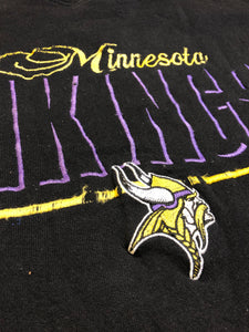 Vintage 1990s Minnesota Vikings Logo Athletic Crew - XL