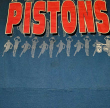 Load image into Gallery viewer, Vintage Pre-95 Detroit Pistons Old Logo Crew - L