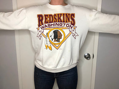 1991 Washington Redskins Crew - S - Rad Max Vintage