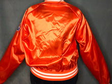 Load image into Gallery viewer, Vintage 1990s Tampa Bay Buccaneers Orange Old Logo Satin Bomber - XL