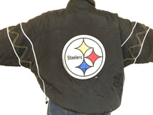Load image into Gallery viewer, Pittsburgh Steelers Starter Jacket - L - Rad Max Vintage