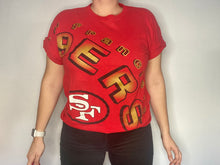 Load image into Gallery viewer, Vintage 1993 San Francisco 49ers Across Shoulder Jerry Rice #80 TSHIRT - L