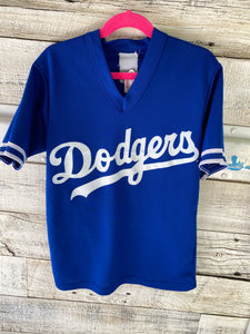 Vintage Los Angeles LA Dodgers Kids JERSEY - Youth Medium / Adult XS
