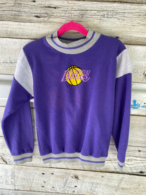 Vintage Los Angeles LA Lakers Kids Crew - Youth 7 / Small
