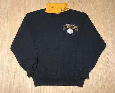 Vintage Pittsburgh Steelers TURTLENECK - M