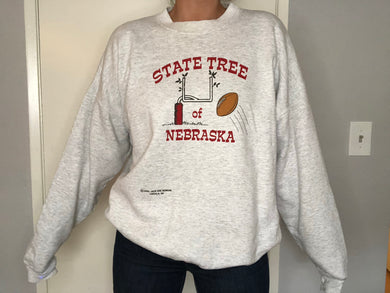 2000 U of Nebraska Crew - XL - Rad Max Vintage