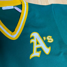 Load image into Gallery viewer, Vintage 1980s Oakland A's Athletics JERSEY - S/M