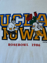 Load image into Gallery viewer, Vintage 1986 UCLA Bruins Iowa Hawkeyes Rose Bowl Crew -