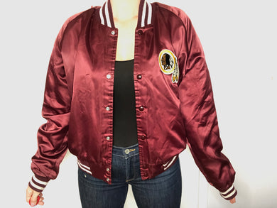 Washington Redskins Chalk Line Bomber - M - Rad Max Vintage