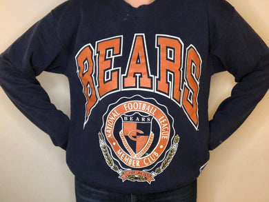 Chicago Bears Crewneck - M - Rad Max Vintage