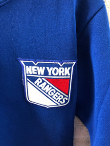 Vintage 90s New York Rangers TURTLENECK - Size Youth Large / Adult XS