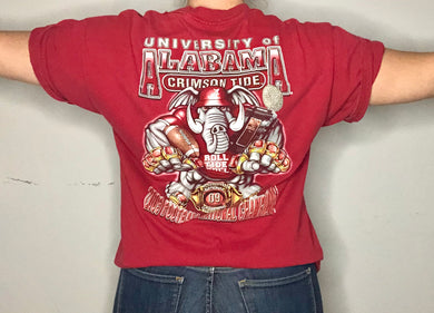 Alabama Crimson Tide 2009 National Football Champions TSHIRT - M